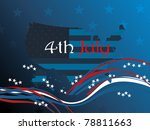 wallpaper for us independence... | Shutterstock .eps vector #78811663