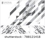 modern diagonal abstract... | Shutterstock .eps vector #788121418