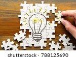 finding solution. solving... | Shutterstock . vector #788125690