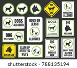 dogs friendly sign  pet allowed ...