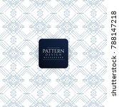 abstract elegant seamless... | Shutterstock .eps vector #788147218