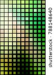 square pattern in green and... | Shutterstock . vector #788148640