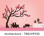 paper art vector illustration... | Shutterstock .eps vector #788149930