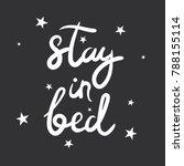 black and white illustration... | Shutterstock .eps vector #788155114