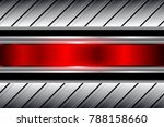 abstract  background silver red ... | Shutterstock .eps vector #788158660
