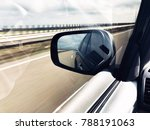 view of the highway in motion ... | Shutterstock . vector #788191063