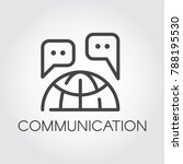 communication icon....