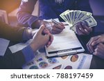 closeup picture stack of...   Shutterstock . vector #788197459