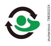 reuse icon vector logo   Shutterstock .eps vector #788202214