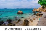 the north of pattaya thailand... | Shutterstock . vector #788218558
