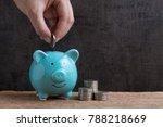 business or finance saving... | Shutterstock . vector #788218669