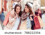 shopping and tourism concept... | Shutterstock . vector #788222356