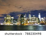 blurred night lights of...   Shutterstock . vector #788230498