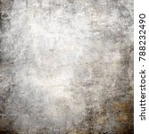 large grunge textures and... | Shutterstock . vector #788232490