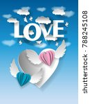 valentine's day illustration....   Shutterstock .eps vector #788245108