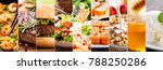 collage of various food products | Shutterstock . vector #788250286