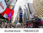 new york  usa   august 6  2017  ... | Shutterstock . vector #788260120