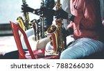 music at indian wedding | Shutterstock . vector #788266030