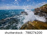 sea splash in the morning | Shutterstock . vector #788276200