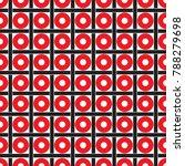 seamless geometric dot and... | Shutterstock .eps vector #788279698