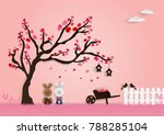 Paper Art Vector Illustration...