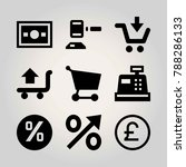 business vector icon set.... | Shutterstock .eps vector #788286133