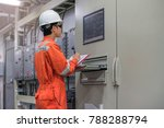 electrical and instrument... | Shutterstock . vector #788288794