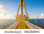offshore oil and gas central... | Shutterstock . vector #788288893