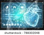 media medicine background image ... | Shutterstock . vector #788302048