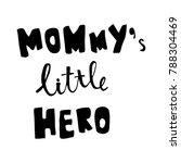 vector hand lettering text ... | Shutterstock .eps vector #788304469