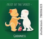 fruit of the spirit   mercy  ... | Shutterstock . vector #788306323