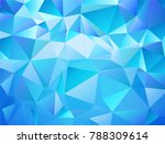abstract blue vector background ... | Shutterstock .eps vector #788309614