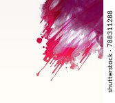 abstract watercolor background. ... | Shutterstock . vector #788311288