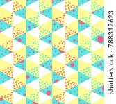 abstract seamless pattern.... | Shutterstock .eps vector #788312623