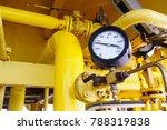 pressure gauge for monitoring...   Shutterstock . vector #788319838