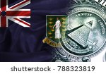 flag of british virgin islands...