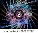 numeric connection series.... | Shutterstock . vector #788327800