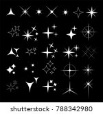 collection of sparkle vector... | Shutterstock .eps vector #788342980