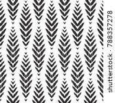 herringbone seamless pattern... | Shutterstock .eps vector #788357278
