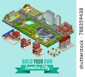 isometric city creation concept ... | Shutterstock .eps vector #788359438