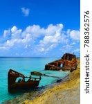 An Abandoned Shipwreck Lies...