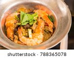 thai seafood   shrimp potted... | Shutterstock . vector #788365078