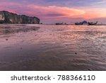 beach and sunset at ao nang... | Shutterstock . vector #788366110