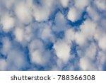 Cumulus Clouds Against The Blu...