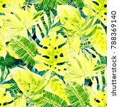 watercolor seamless pattern... | Shutterstock . vector #788369140