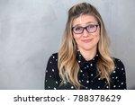 awkward weird unstylish nerdy... | Shutterstock . vector #788378629
