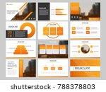 orange bundle infographic... | Shutterstock .eps vector #788378803