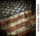 Dark Grunge Us Flag