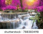 amazing waterfall at beautiful... | Shutterstock . vector #788383498
