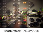 various type of financial and...   Shutterstock . vector #788390218